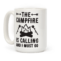 The Campfire Is Calling And I Must Go