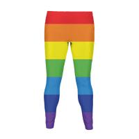 Gay Flag Colors Legging