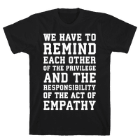 The Act of Empathy White Print