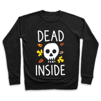 Dead Inside Autumn Skull (White)