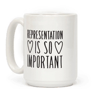 Representation Is So Important Mug