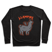 Llampire White Print