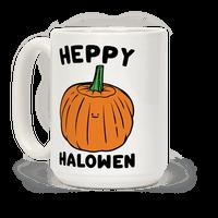 Heppy Halowen Parody Mug