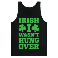 Irish I Wasn't Hungover White Print