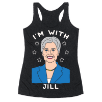 I'm With Jill Racerback