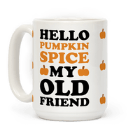 Hello Pumpkin Spice My Old Friend