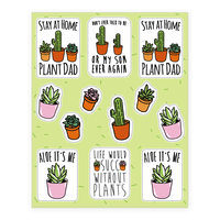 Plant Parent Sticker Sheet