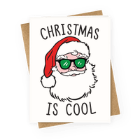 Christmas Is Cool Greetingcard