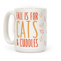 Fall Is For Cats and Cuddles Mug