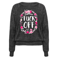 Floral Fuck Off Pullover