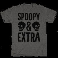Spoopy & Extra Tee