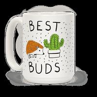 Best Buds Hedgehog Cactus Mug