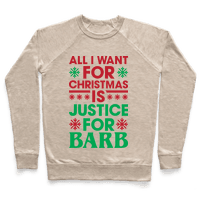 All I Want For Christmas Is Justice For Barb