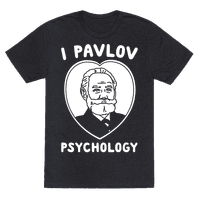 I Pavlov Psychology White Print