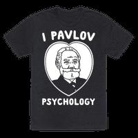 I Pavlov Psychology White Print