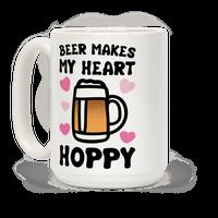 Beer Makes Me Heart Hoppy