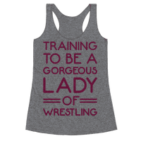 Training To Be A Gorgeous Lady Of Wrestling