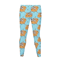 Cinnabunnies Pattern Legging