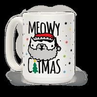 Meowy Catmas Mug
