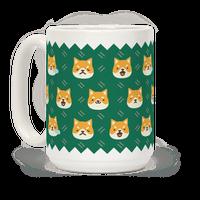 Shiba Inu Emoji Mug Mug