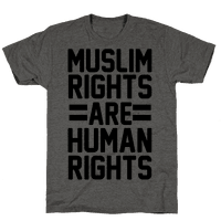Muslim Rights Are Human Rights Tee