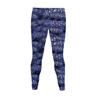 NAUTICAL COELACANTH FISH PATTERN Legging