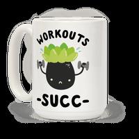 Workouts Succ Mug
