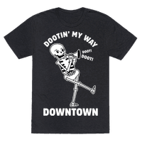 Dootn' My Way Down Town White