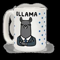 Ollama Parody Mug