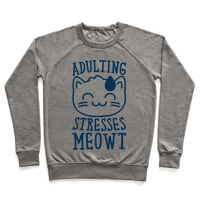 Adulting Stresses Meowt