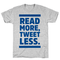 Read More, Tweet Less