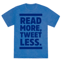 Read More, Tweet Less