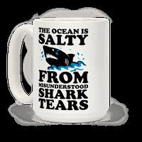 This Ocean Is Salty From Misunderstood Shark Tears