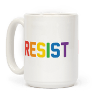 LGBTQ+ Resist Mug