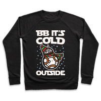 BB It's Cold Outside Parody White Print