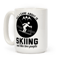 Skiing and Like Two People