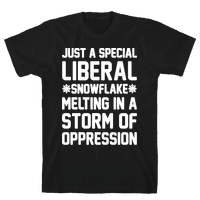 Just a Special Liberal Snowflake White Print