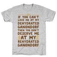If You Can T Love Me At My Dehydrated Ganondorf Then You Don T Deserve Me At My Rehydrated Ganondorf Baby One Piece Lookhuman