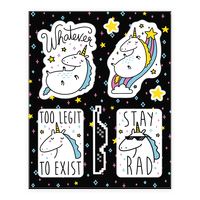 Rad Unicorns Sticker