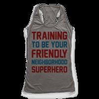 Training To Be Your Friendly Neighborhood Superhero Parody