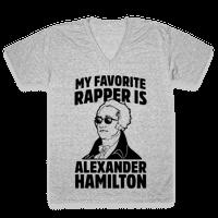 My Favorite Rapper is Alexander Hamilton Vneck